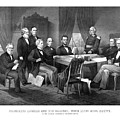 President Lincoln His Cabinet And General Scott by War Is Hell Store