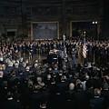 President Lyndon Johnson Lying In State by Everett
