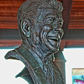 President Reagan Bust by Tommy Anderson
