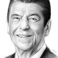 President Ronald Reagan by Greg Joens