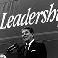 President Ronald Reagan Leadership Photo by War Is Hell Store