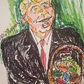 President Trump by Geraldine Myszenski
