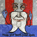 Presidential Tooth 2 by Anthony Falbo