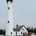 Presque Isle Lighthouse by Michael Peychich