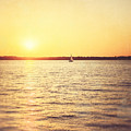 Presque Isle Sunset by Lisa Russo