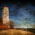Presquile Lighthouse by Lois Bryan