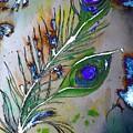Pretty As A Peacock by Denise Tomasura