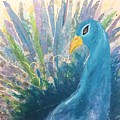 Pretty As A Peacock by Suze Moll