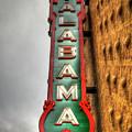 Pretty As Ever The Alabama Theatre Birmingham Alabama Art by Reid Callaway