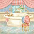 Pretty Bathrooms II by Shari Warren