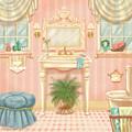 Pretty Bathrooms IIi by Shari Warren