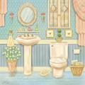 Pretty Bathrooms Iv by Shari Warren