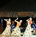 Pretty Dancers In Tahiti by Kathryn McBride