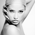 Pretty Face - Check For Full Size - Image Is Intentionally Unfocussed  by Matusciac Alexandru