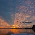 Pretty Industrial Sunrise by Sven Brogren