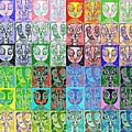 Pretty Kitties Pop Art by Sandra Silberzweig