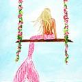 Pretty Pink Swing by Leslie Allen