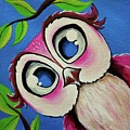 Pretty Pinky Owl by Deepalakshmi Sampath