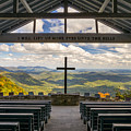 Pretty Place Chapel - Blue Ridge Mountains Sc by Dave Allen