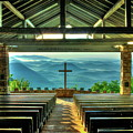 Pretty Place Chapel The Son Has Risen Blue Ridge Mountain Art by Reid Callaway