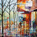 Pretty Rain by Leonid Afremov