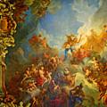 Priceless Art In Versailles by Al Bourassa