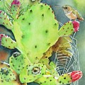 Prickly Pair by Patricia Pushaw