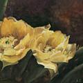 Prickly Pear Beauties by Susan Klinger