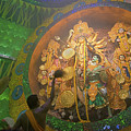 Priest Praying To Goddess Durga Durga Puja Festival Kolkata India by Rudra Narayan  Mitra