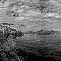 Priest River Panorama 2 by Lee Santa