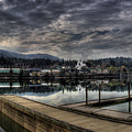 Priest River Panorama 7 by Lee Santa