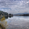 Priest River Panorama 8 by Lee Santa
