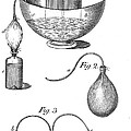 Priestleys Gas Manipulating Apparatus by Wellcome Images