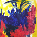 Primary Color Abstract by Maggis Art