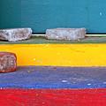 Primary Colored Doorstep by John Harmon