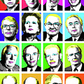 'prime Ministers Question Time X 16' by Gary Hogben