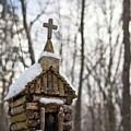 Primitive Church In The Mountains by Douglas Barnett