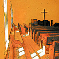 Primitive Church - Sunday Morning by Rebecca Korpita