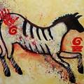 Primitive Little Horse by Carol Suzanne Niebuhr