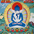 Primordial Buddha Kuntuzangpo by Sergey Noskov