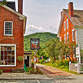 Prince And The Pauper Restaurant In Woodstock-vermont  by Ruth Hager