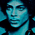 Prince - Tribute In Blue by Rafael Salazar