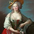 Princess Elisabeth Of France by Elisabeth Vigee Le Brun