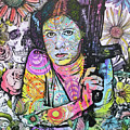 Princess Leia Flowers by Dean Russo Art
