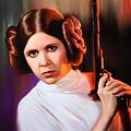 Princess Leia  by John Brennan