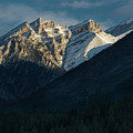 Princess Margaret Mountain Canmore Alberta Canada by Steve Gadomski