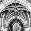 Princeton University Arched Walkway by Geraldine Scull