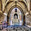 Princeton University Arches And Stairway To Education by Geraldine Scull