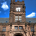 Princeton University East Pyne Hall  by Olivier Le Queinec