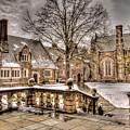 Snow / Winter Princeton University by Geraldine Scull
